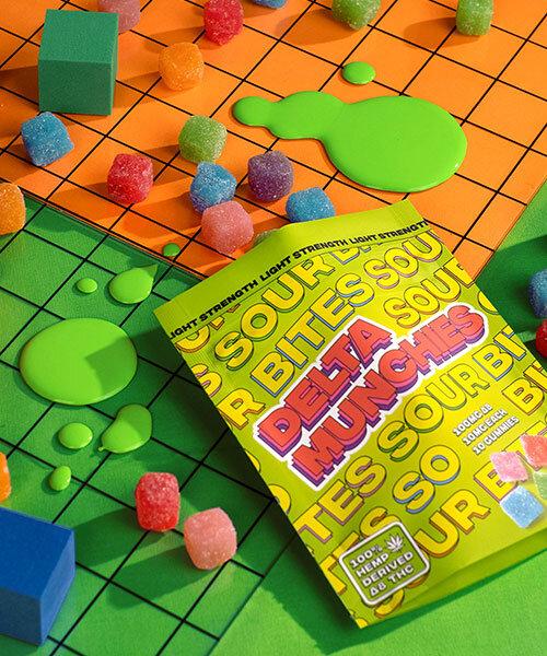 Delta Munchies Delta 8 Sour Bite Gummies